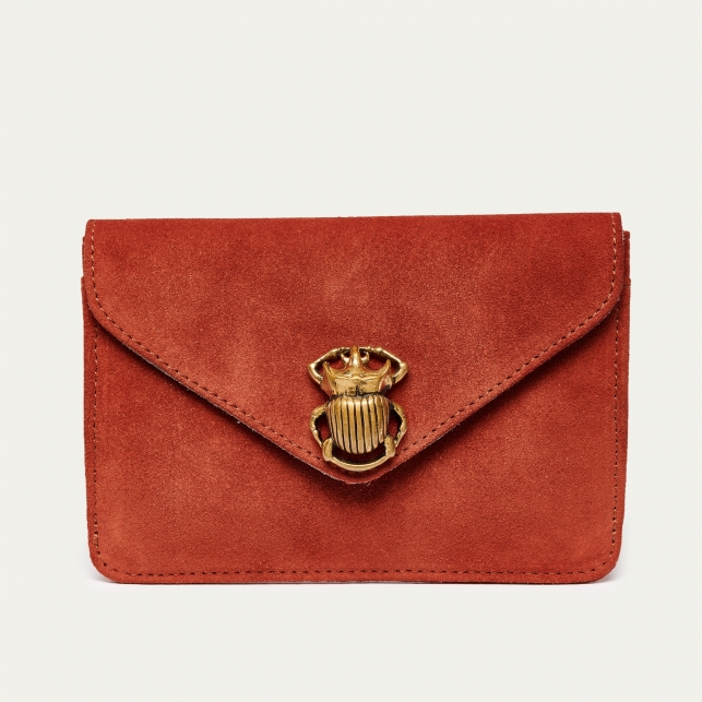 Brick Leather Card Holder Alex Beetle