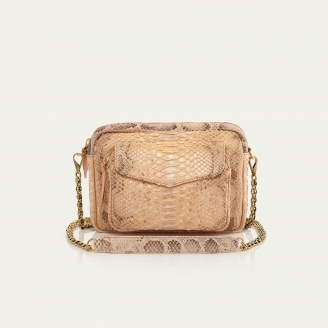 Champagne Python Charly Bag