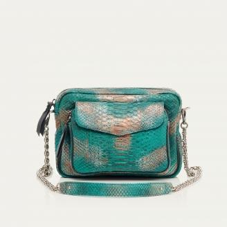Aqua Python Big Charly Bag