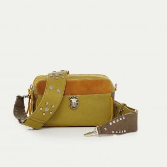 Mustard Calfskin Bag Lily