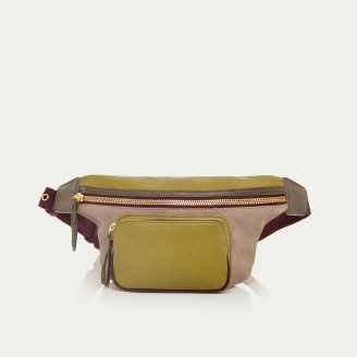Mustard Leather Fanny Pack Romeo