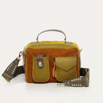 Mustard Leather Cesar Bag