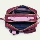 Eggplant Leather Cesar Bag