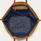 Caramel Studs Leather Tote Felix