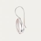 Silver Shell Earring