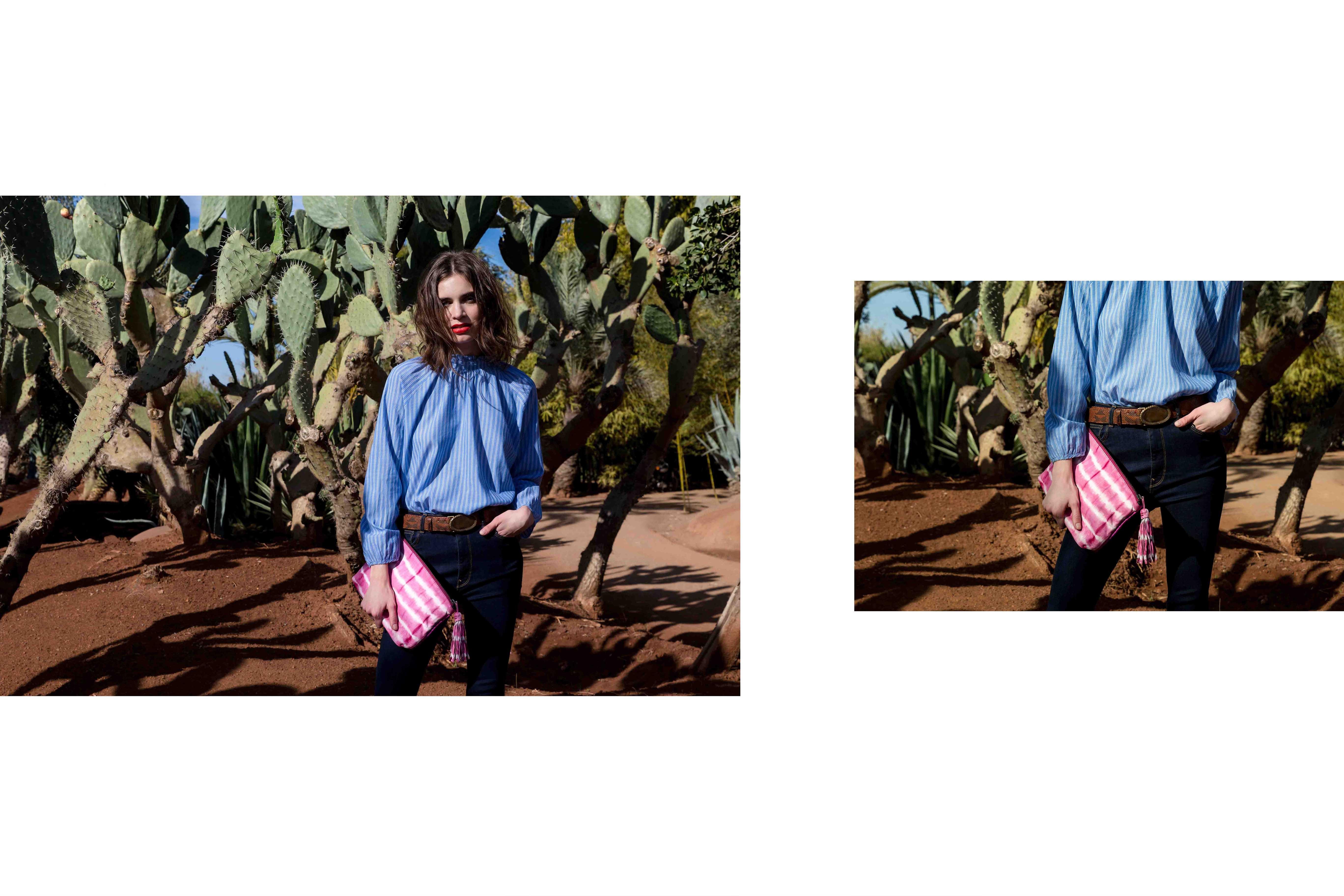 Andy Tie & Die Pink
